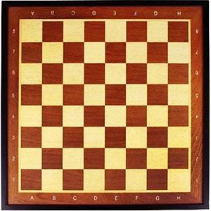 49CC - Schachbrett mit Rand • Deluxe •