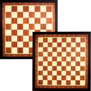 49CD - Draughts/Chess Board with Border • Deluxe •