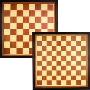 49CG - Dame/Schachbrett 54.5 x 54.5 cm