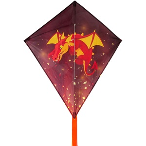 51WA - Diamond Kite • Dragon •