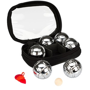 52JH - Mini Jeu de Boules Set • 6 Ballen •