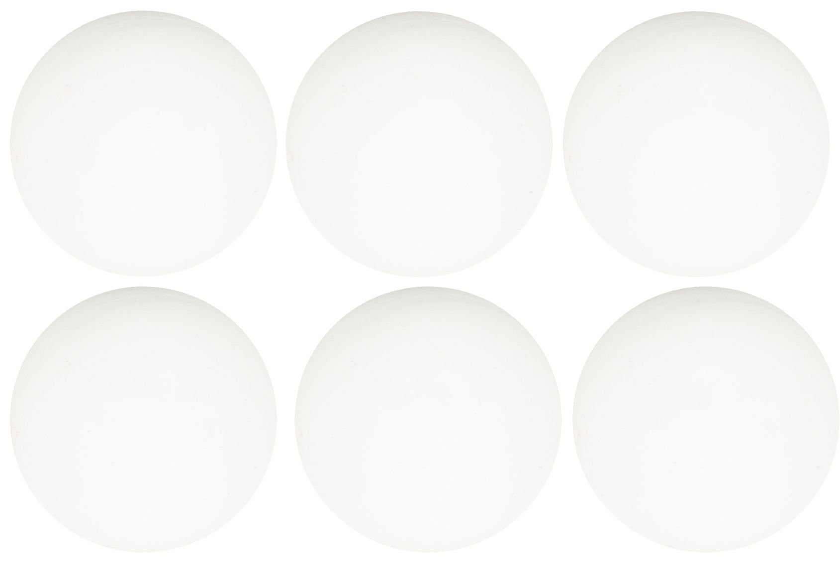 Tafeltennisballen PP in Koker • 6 Stuks •