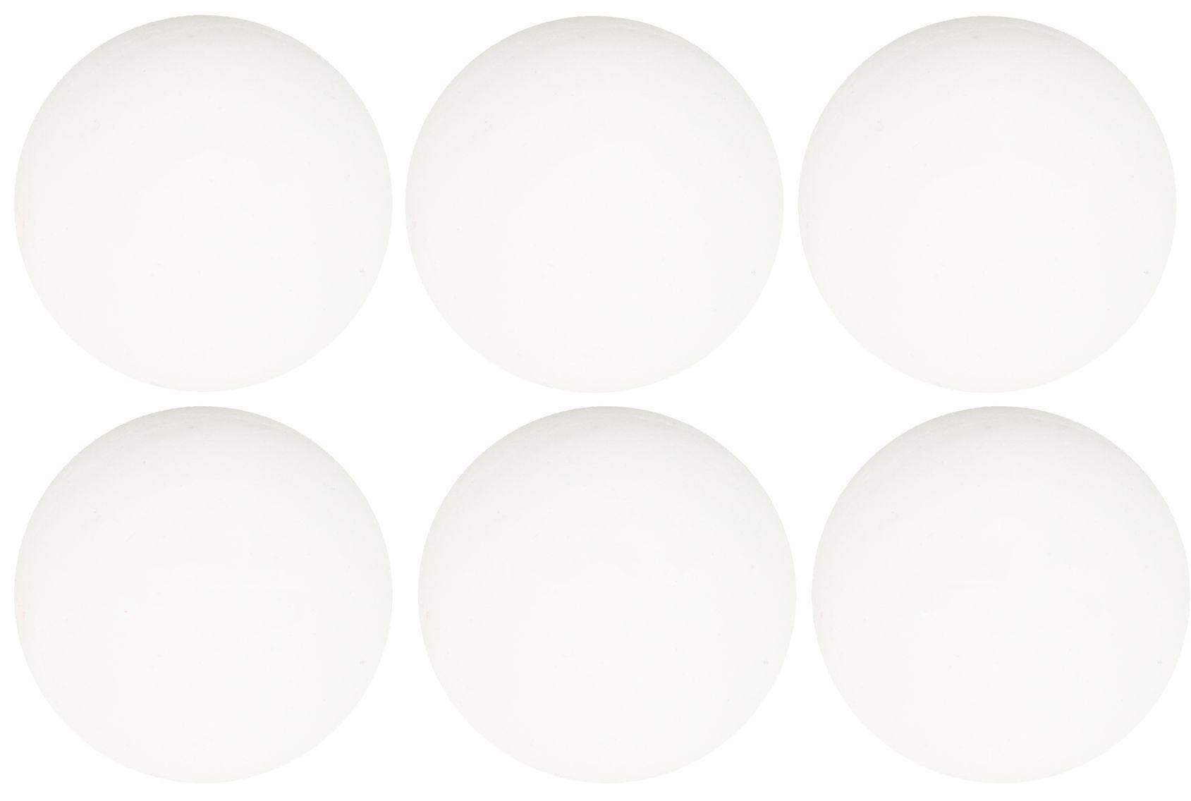 Tafeltennisballen Celluloïde in Koker • 6 Stuks •