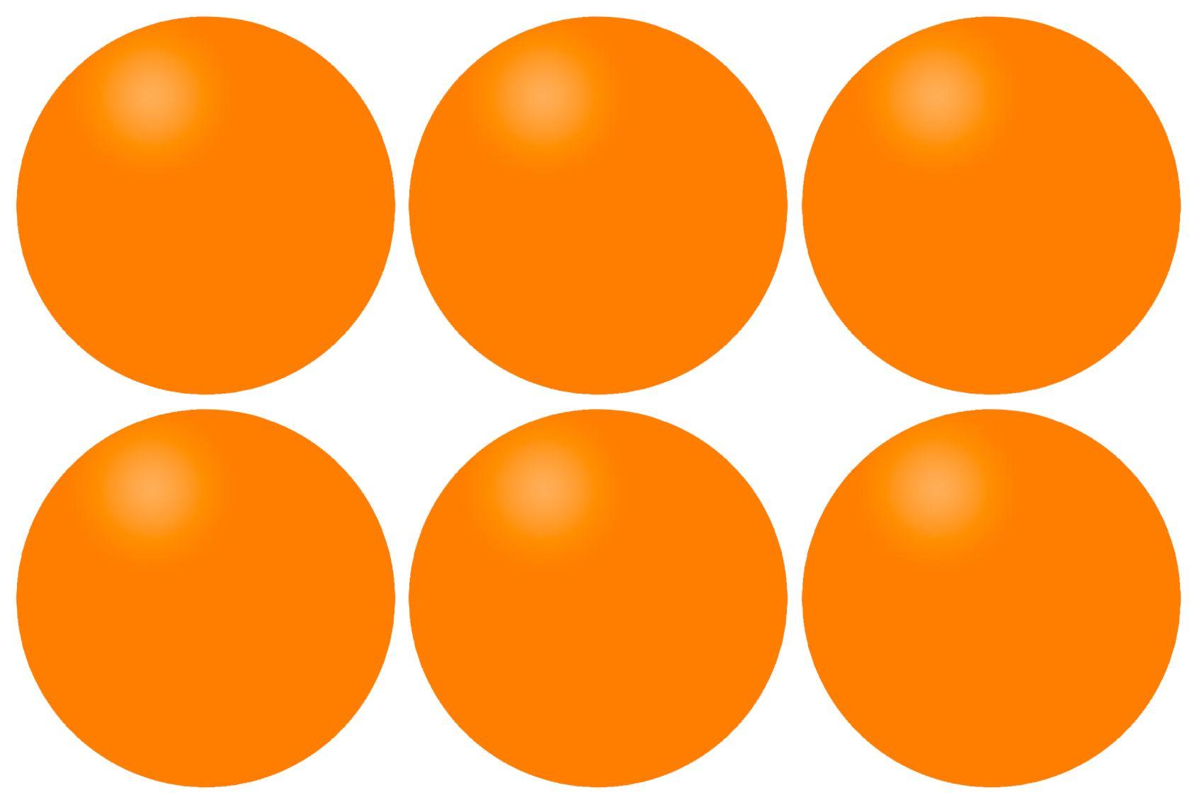 Tafeltennisballen in Koker • 6 Stuks •