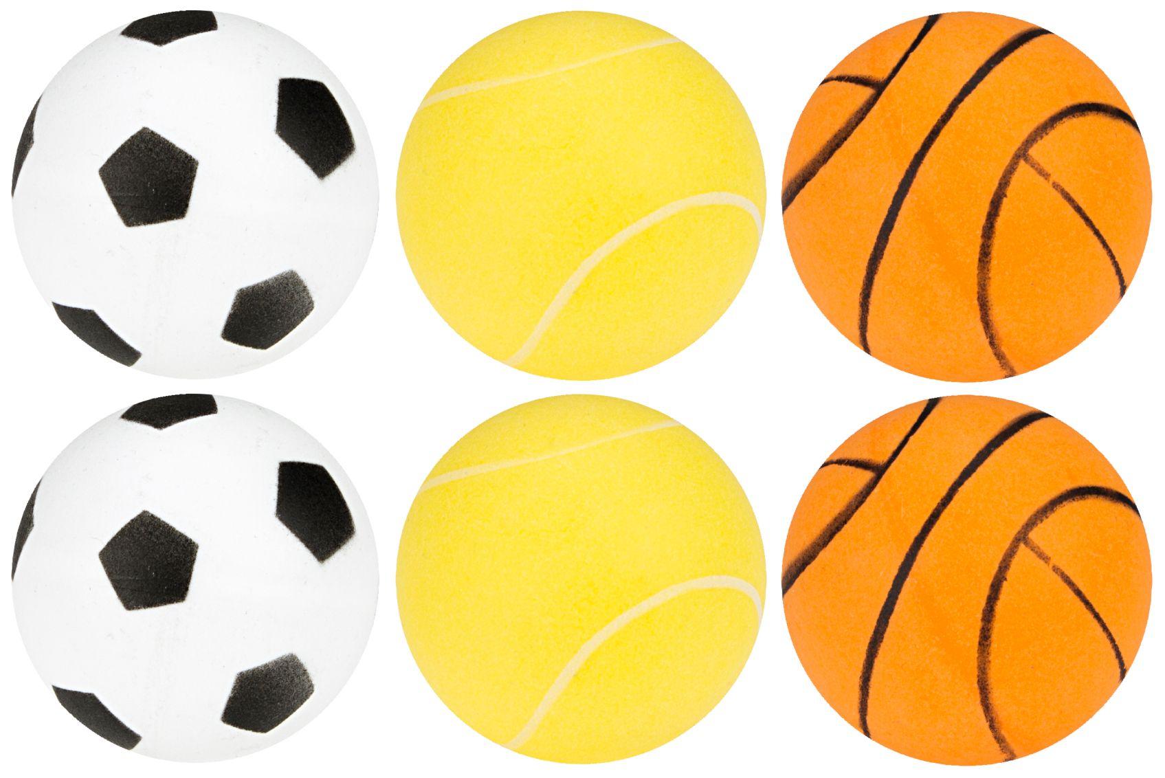 Tafeltennisballen met Print in Koker • 6 Stuks •