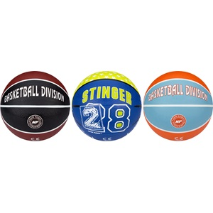 16GA - Mini Basketball Aufdruck