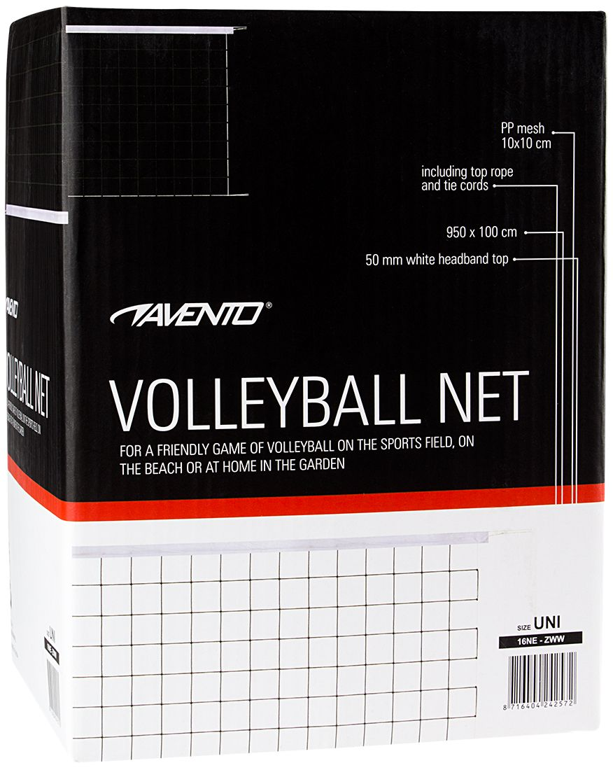 Volleybalnet • 9.5 x 1 meter •