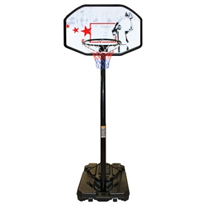 16NX - Portable Basketball Stand • Adjustable •