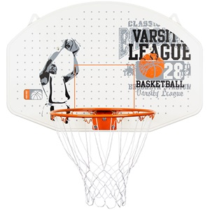 16NY - Basketball Board + hoop + net