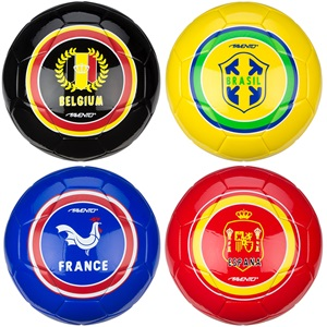 16XO - Fußball Glänzend • World Soccer •