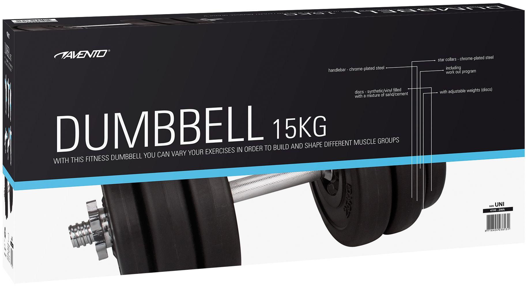Halter 15 Kg • Kunststof Gewichten •