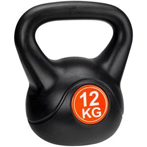 41KE - Kettle Bell Kunststof/Cement • 12 Kg •
