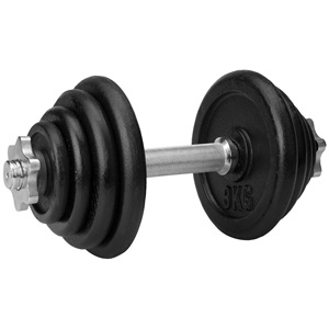 42DE - Dumbbell Adjustable Steel • 15 kg •