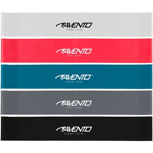 42SA - Fitness Resistance Band Set Latex - 5 Levels