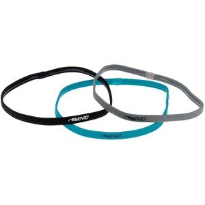 44AB - Sports Hairband Elastic 3pcs • Blue •