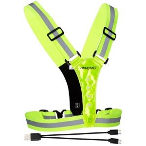 44RE - Sport Veiligheidsvest met LED • Oplaadbaar •