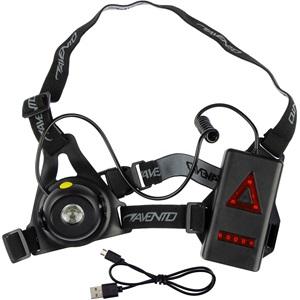 44RI - Running Safety Vest Rechargeable Chestlight • Tiltable •
