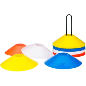 45PF - Saucer Cones 4 Colours • Lite Speed •