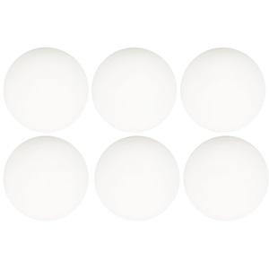 46TG - Tafeltennisballen PP • 6 stuks •