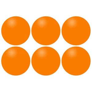 46TI - Tafeltennisballen ABS • 6 Stuks •