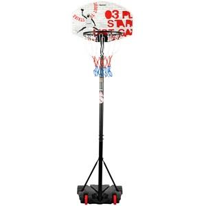 47SA - Basketbalstandaard Verrijdbaar • Champion Shoot •