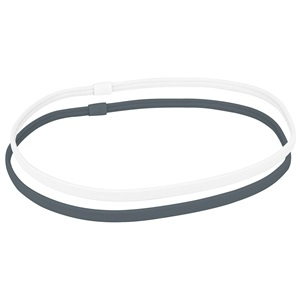 74OM - Sportstirnband • Gummi • 6 mm • 2 Stück •