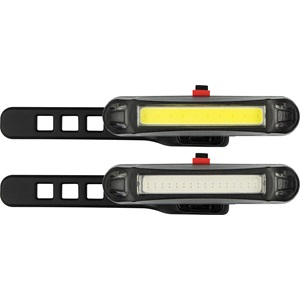 81LB - LED Bicycle Lights Set Rechargeable • Zoom Bar 45 •