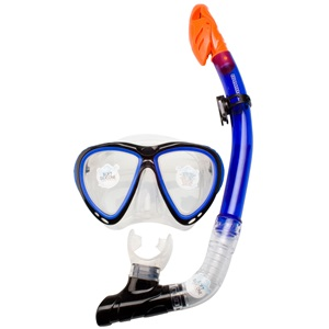 88DJ - Diving Mask with Snorkel Silicone • Senior •