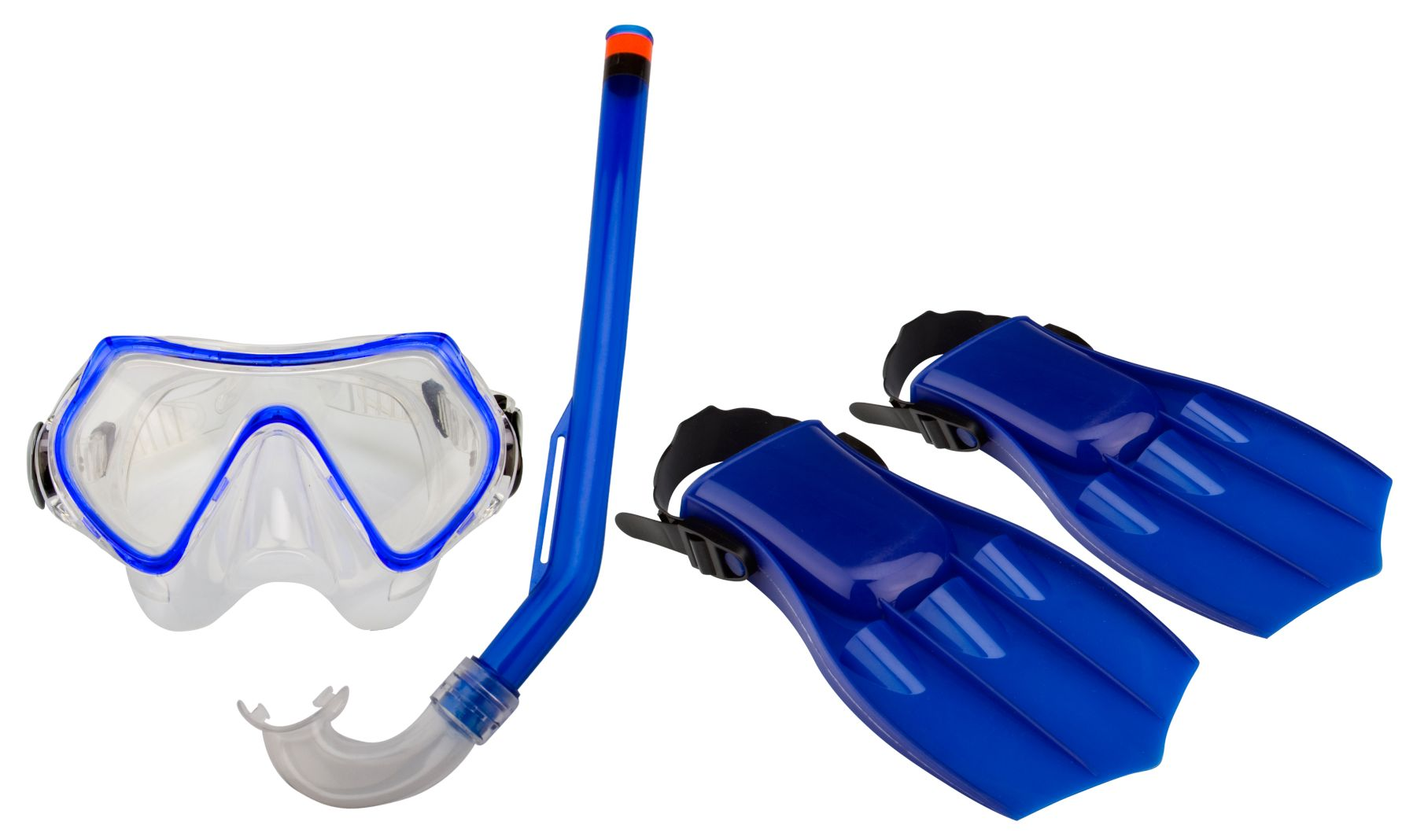 Duikset Masker/Snorkel/Vliezen • Junior •