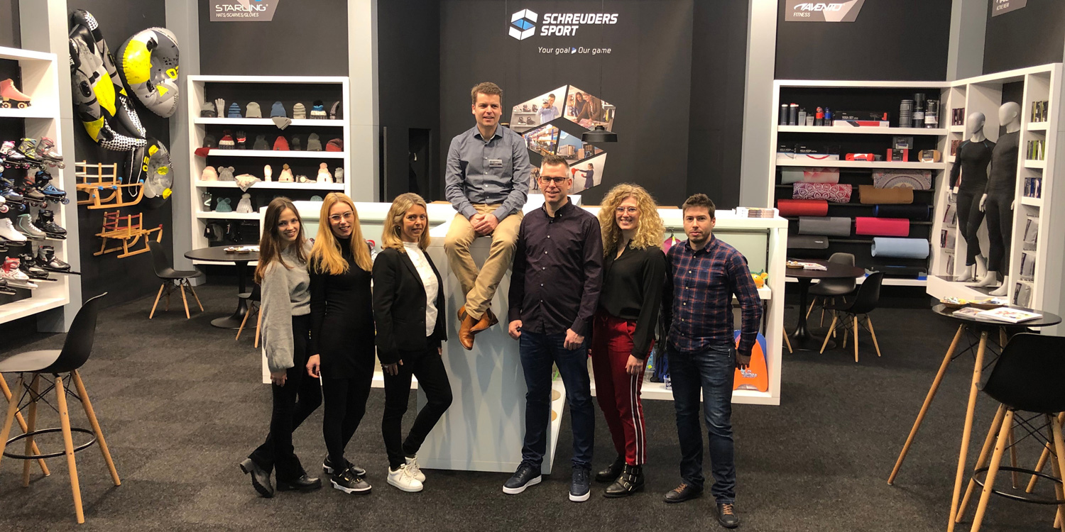 Schreuders Sport at the ISPO
